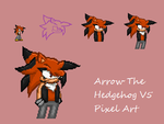 Arrow Custom Pixel Art by sonic2344
