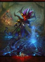DIABLO  Witch Doctor by yichenglong1985