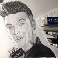 Part one of my Andy Black Project by xxdaswarwohlnix