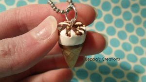 King Cone Necklace by BeppasCreations