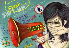 You Can(not) Speak Your Mind Freely by ZeRoyaleCookie
