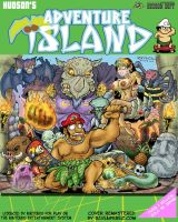 Adventure Island Cover-Cover by ravensdojo