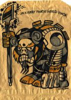 Jack Kirby Ewok Bag by PaulSizer