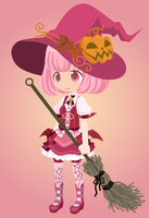 Witch Girl Strawberry by Tara012