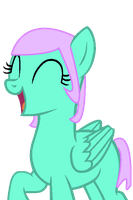 New Ponysona (Emerald Rose) by TheRandomPegasister