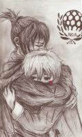 -in your arms- nezumi and sion by strawbeery