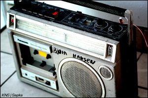 casette player by Sapka