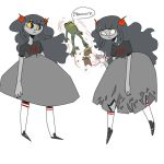 Normal And Spoopy Aradia by ayyy-lmao