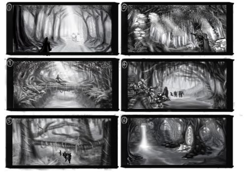 Forest Thumbnails by LupeanTheNavyPriest