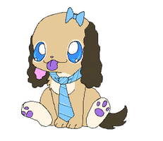 Michi Pup by BakaMichi