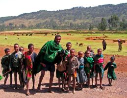 Happy Kids Ethiopia by Jenvanw