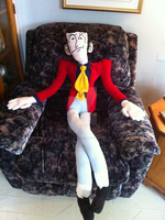 Giant Gangly Lupin by SoVeryUnofficial