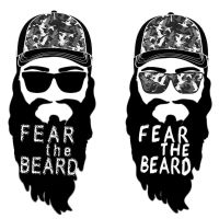 yoni-Fear the Beard Urban by Tyger-graphics