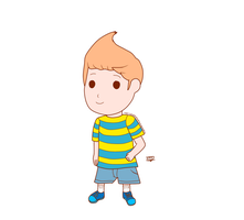 Mother 3 Fan art - Claus by JackFrostOverland