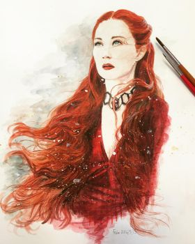 Melisandre - Game of Thrones by ashura-alexis
