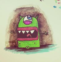 Naked monster by Pdk-almeida