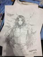 Neji Sketch in CF by shrimpHEBY