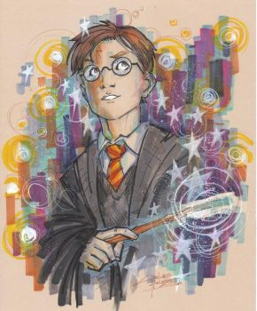 Marker : Harry Potter by KidNotorious