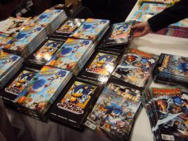 NYCC '12: Lots of Sonic Comics and Books by PanicPagoda