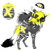 SilverWolf1996's hatchling -DN by colourfulgrey-adopts