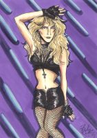 Lita Ford pin-up by cozywelton