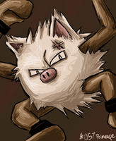 Day 2: Primeape by Crusnik-O2