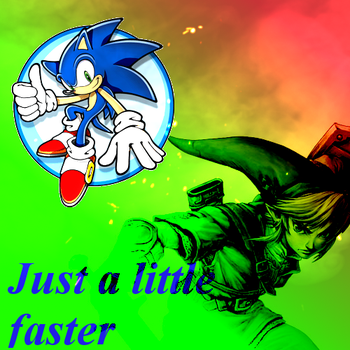 Just a little faster by UltytheHedgehog01