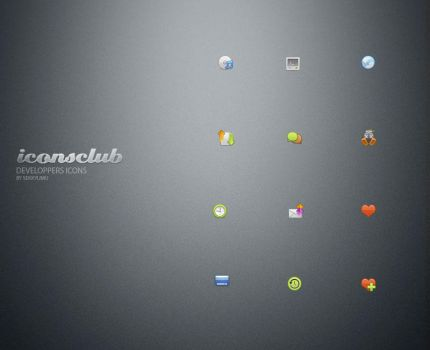 Developers Icons by IconsClub