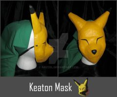 Keaton mask by Arizzel
