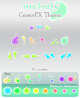 MeLoDy CursorFX Theme by kittenbella