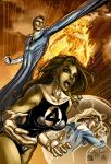 Fantastic Four color by qualano