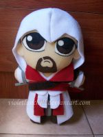 Assassin's Creed Ezio plushie by VioletLunchell