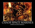 Chaos Space Marines Motivator by 566chris