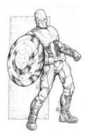 Captain America Inked by acosorio