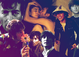 John Lennon Wallpaper. by C-Jady