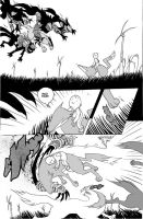wolf fight by royalboiler
