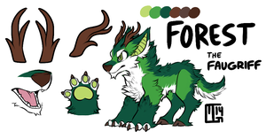 Forest the Faugriff by MGMaguire