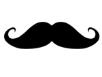 Moustache -PNG Image. by MariianneEditions