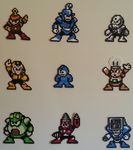 Megaman 4 Stage Select by DuctileCreations