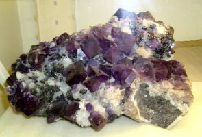chunky fluorite by cl2007