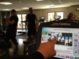 Zak, Nick, and Aaron at the gym by MJandGhostAdventures