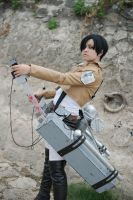 Rivaille Cosplay 01 by DYuki