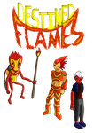 Destined Flames -Character designs (1?)- by SpeedComics
