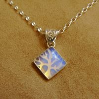 Icy Morning Pendant by GeshaR