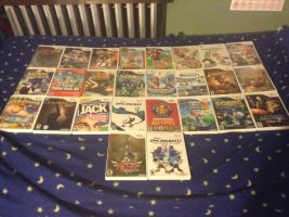 My Wii Collection by UKD-DAWG