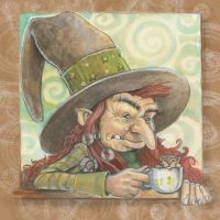 wee-witch by P0UL