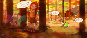 Autumn and the related by Tuyoki