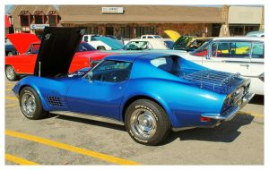 A Cool Blue Corvette by TheMan268