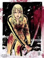 Kill Bill - The Bride colored by Doug Garbark by DougGarbark