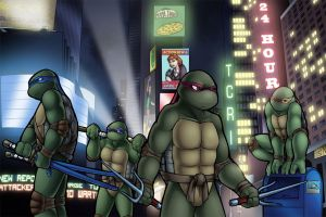 TMNT by TravisTheGeek